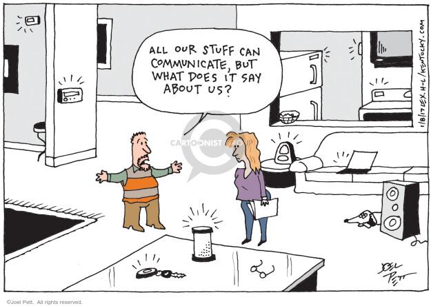 Joel Pett  Joel Pett's Editorial Cartoons 2017-01-08 relationship