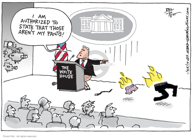 Cartoonist Joel Pett  Joel Pett's Editorial Cartoons 2017-01-25 information