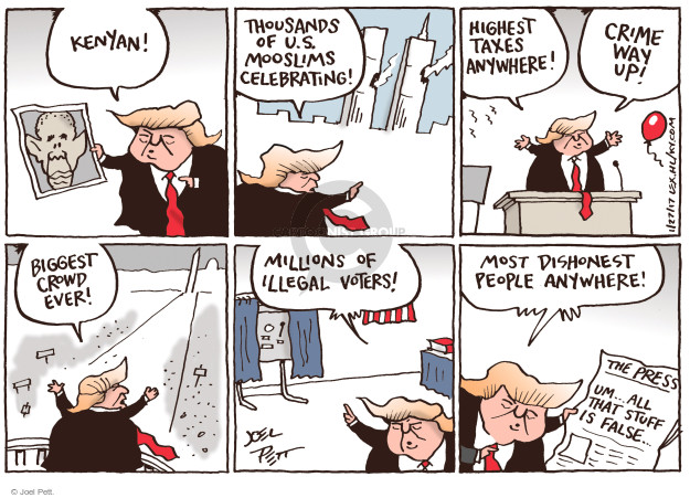 Joel Pett  Joel Pett's Editorial Cartoons 2017-01-27 size