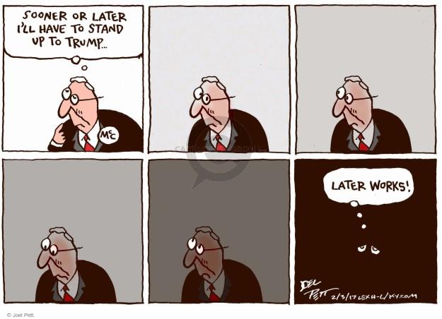 Cartoonist Joel Pett  Joel Pett's Editorial Cartoons 2017-02-03 politics