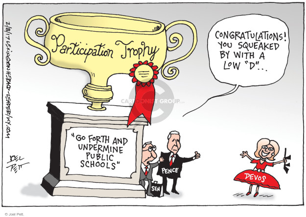 Joel Pett  Joel Pett's Editorial Cartoons 2017-02-08 appointment