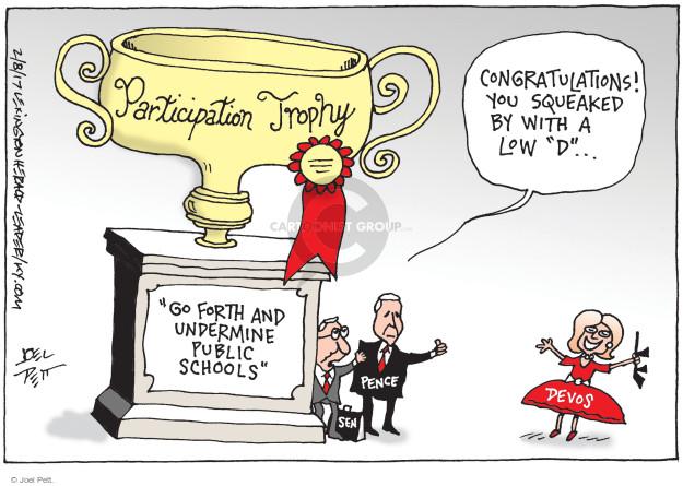 Joel Pett  Joel Pett's Editorial Cartoons 2017-02-08 secretary