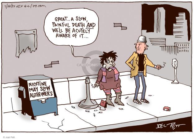 Cartoonist Joel Pett  Joel Pett's Editorial Cartoons 2017-02-14 medicine