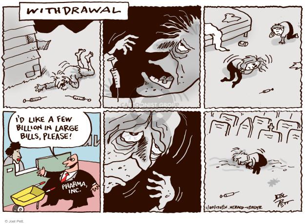 Joel Pett  Joel Pett's Editorial Cartoons 2017-02-21 addiction