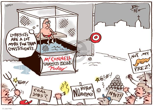 Joel Pett  Joel Pett's Editorial Cartoons 2017-02-23 repeal
