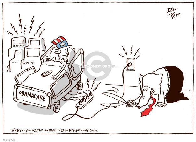 Joel Pett  Joel Pett's Editorial Cartoons 2017-02-28 repeal
