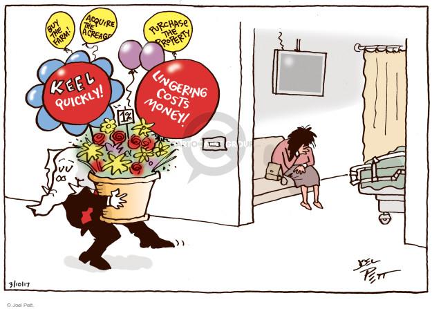 Cartoonist Joel Pett  Joel Pett's Editorial Cartoons 2017-03-10 congress health care