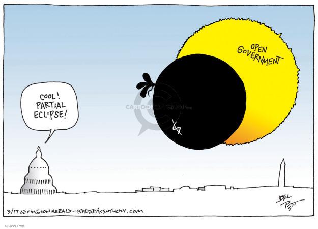 Cartoonist Joel Pett  Joel Pett's Editorial Cartoons 2017-03-14 donation