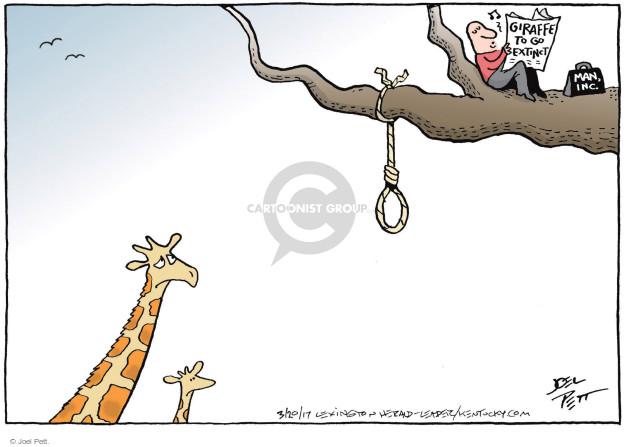 Joel Pett  Joel Pett's Editorial Cartoons 2017-03-20 habitat