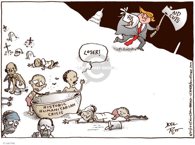 Cartoonist Joel Pett  Joel Pett's Editorial Cartoons 2017-03-22 federal budget