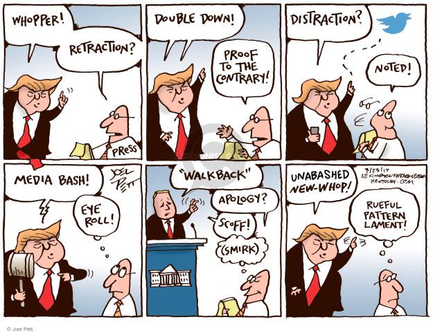 Cartoonist Joel Pett  Joel Pett's Editorial Cartoons 2017-03-23 strategy