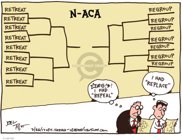 Joel Pett  Joel Pett's Editorial Cartoons 2017-03-26 repeal