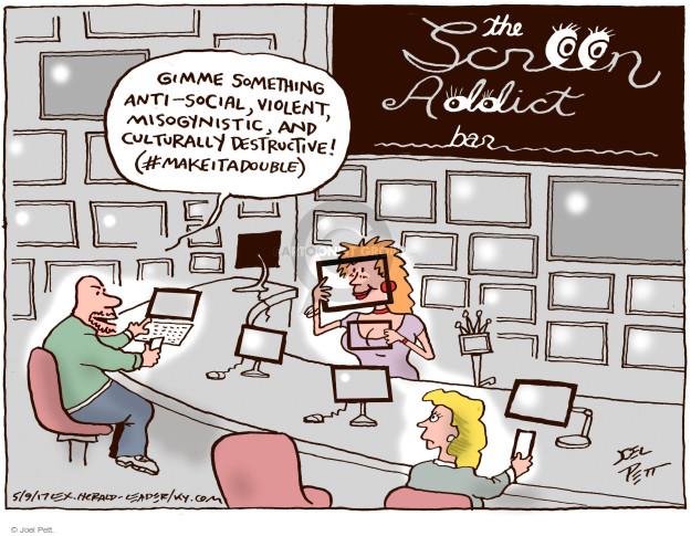 Joel Pett  Joel Pett's Editorial Cartoons 2017-05-09 internet