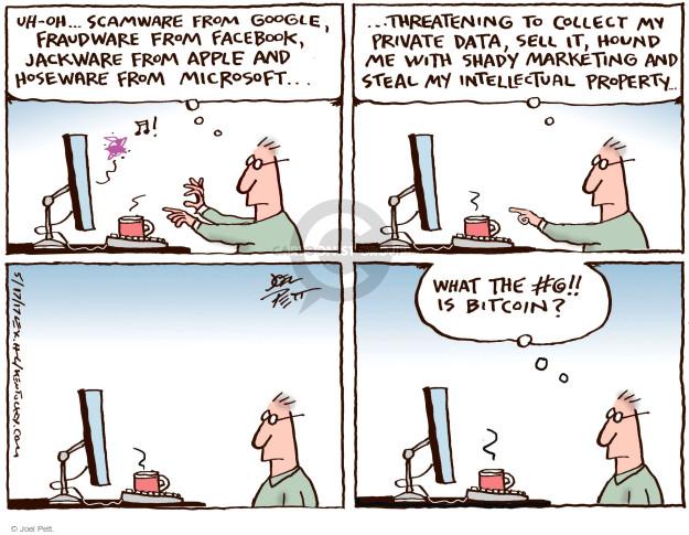 Joel Pett  Joel Pett's Editorial Cartoons 2017-05-17 virus