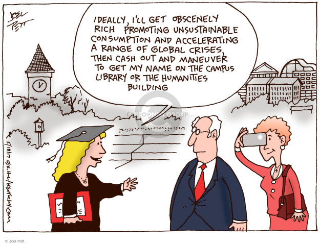 Cartoonist Joel Pett  Joel Pett's Editorial Cartoons 2017-05-19 building