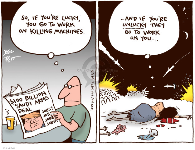 Joel Pett  Joel Pett's Editorial Cartoons 2017-05-23 United States Military