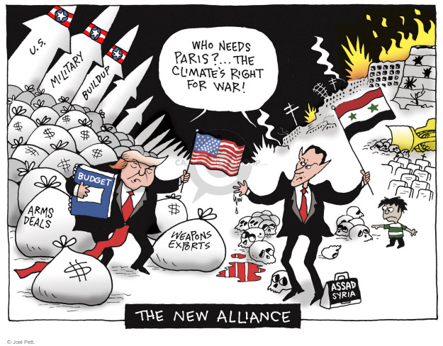 Joel Pett  Joel Pett's Editorial Cartoons 2017-06-06 United States Military