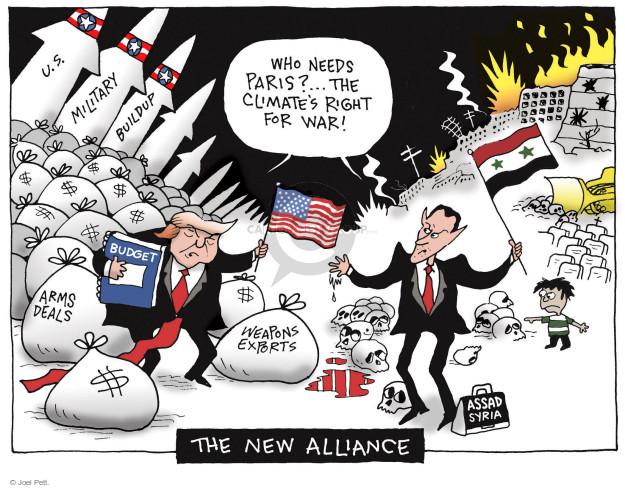 Joel Pett  Joel Pett's Editorial Cartoons 2017-06-06 arms