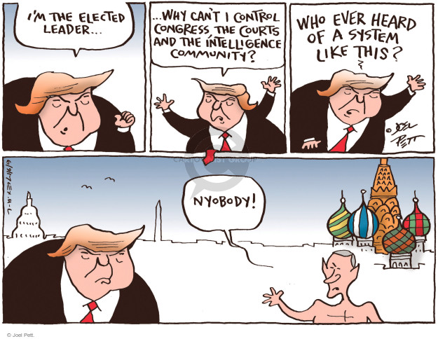Joel Pett  Joel Pett's Editorial Cartoons 2017-06-09 democracy