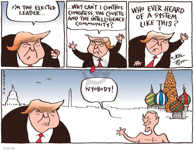 Joel Pett  Joel Pett's Editorial Cartoons 2017-06-09 Vladimir Putin