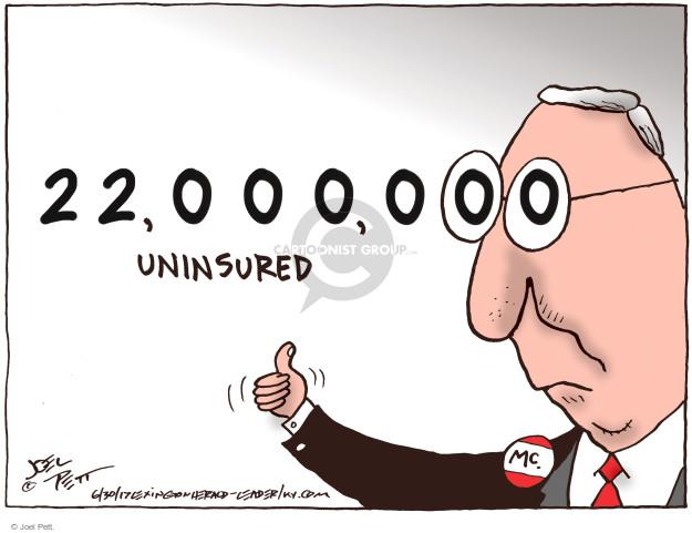 Joel Pett  Joel Pett's Editorial Cartoons 2017-06-30 repeal