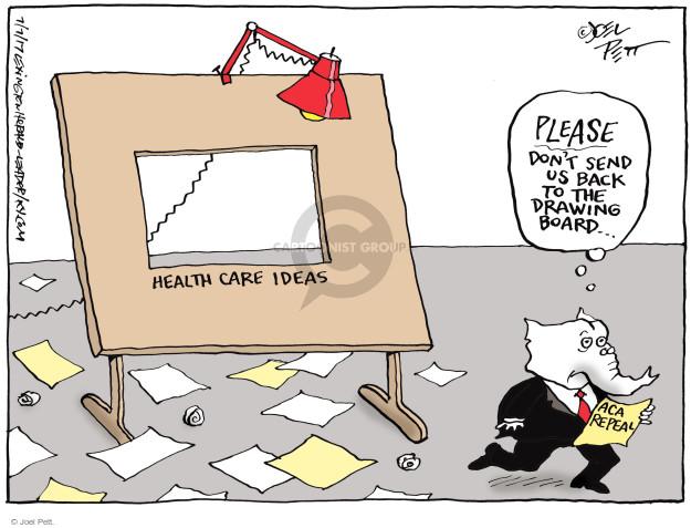 Joel Pett  Joel Pett's Editorial Cartoons 2017-07-07 repeal