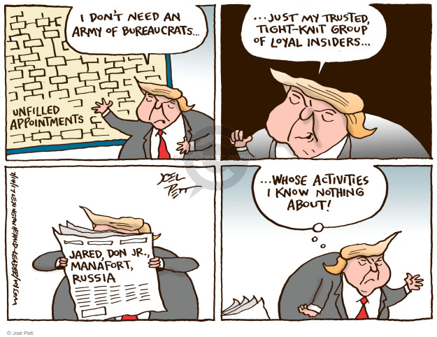 Joel Pett  Joel Pett's Editorial Cartoons 2017-07-14 appointment