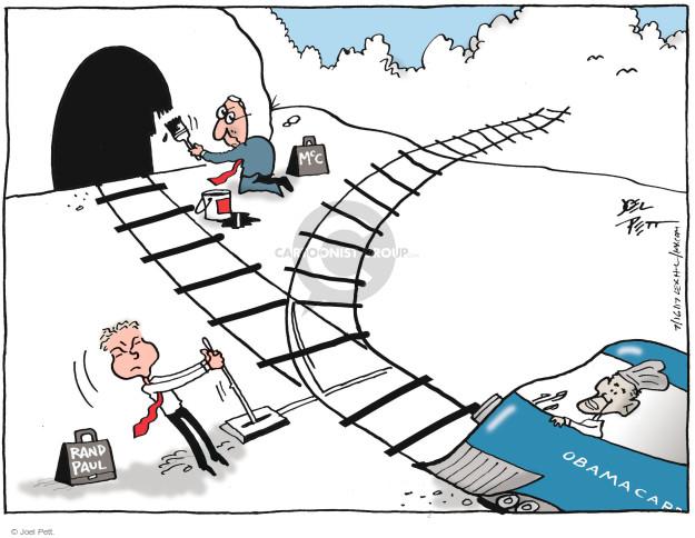 Joel Pett  Joel Pett's Editorial Cartoons 2017-07-16 repeal