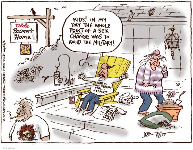 Cartoonist Joel Pett  Joel Pett's Editorial Cartoons 2017-07-30 boomer