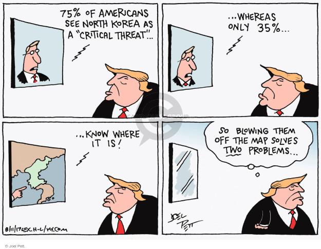 Cartoonist Joel Pett  Joel Pett's Editorial Cartoons 2017-08-11 state