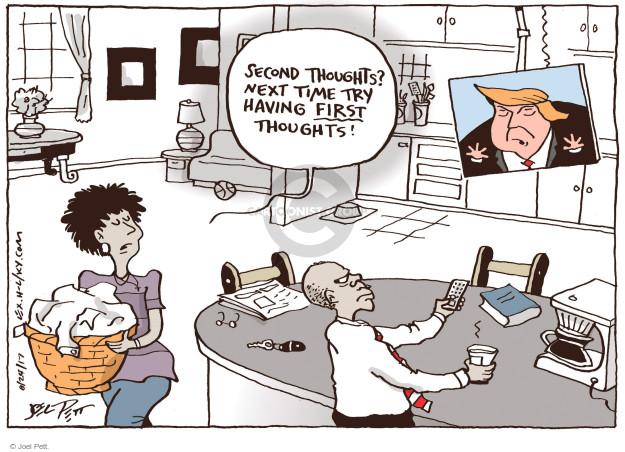 Cartoonist Joel Pett  Joel Pett's Editorial Cartoons 2017-08-24 politics