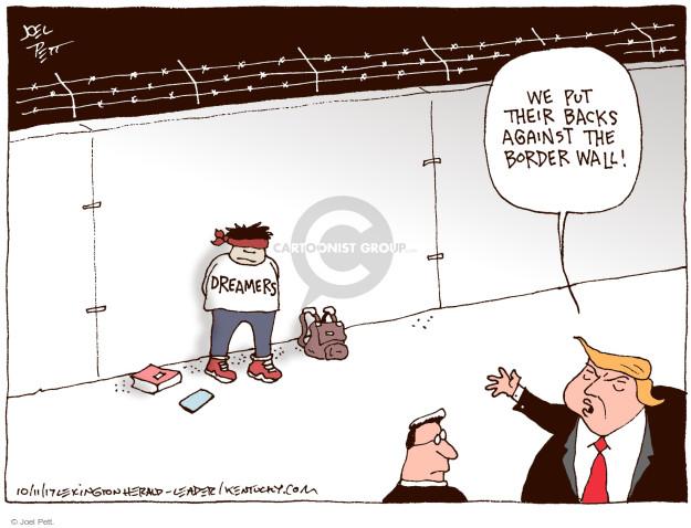 Cartoonist Joel Pett  Joel Pett's Editorial Cartoons 2017-10-11 state