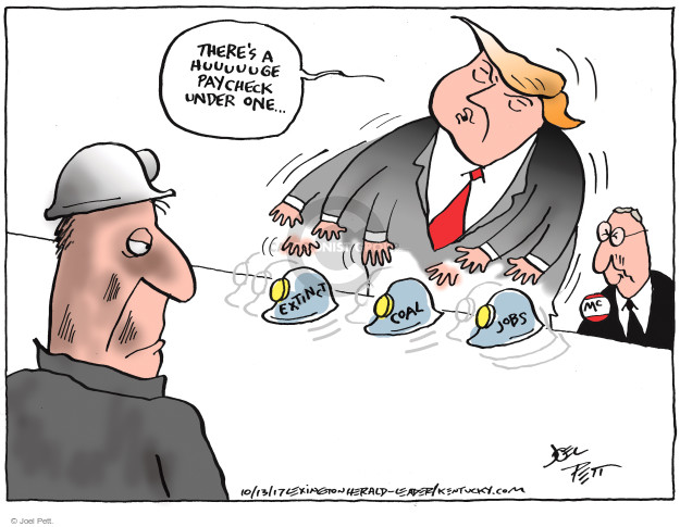 Joel Pett  Joel Pett's Editorial Cartoons 2017-10-13 Mitch McConnell