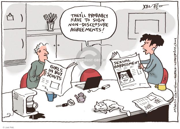 Joel Pett  Joel Pett's Editorial Cartoons 2017-10-26 gender