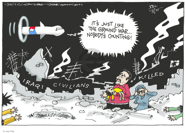 Joel Pett  Joel Pett's Editorial Cartoons 2017-11-22 United States Military