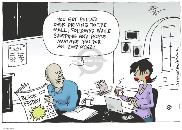 Joel Pett  Joel Pett's Editorial Cartoons 2017-11-24 shopper