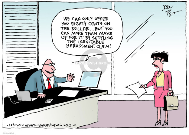 Joel Pett  Joel Pett's Editorial Cartoons 2017-12-05 gender
