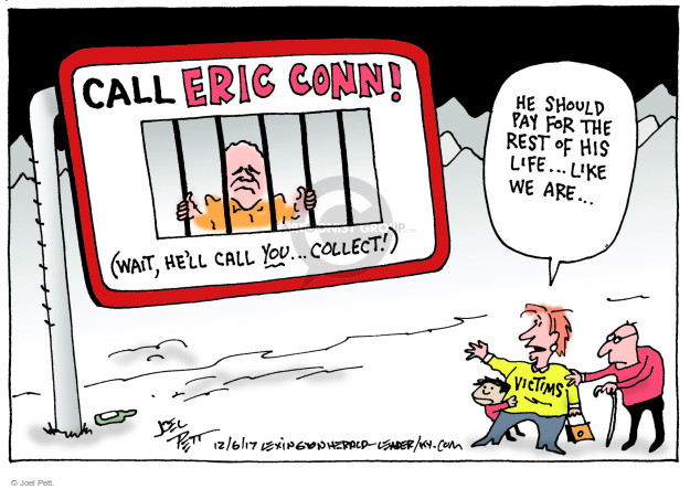 Joel Pett  Joel Pett's Editorial Cartoons 2017-12-06 life