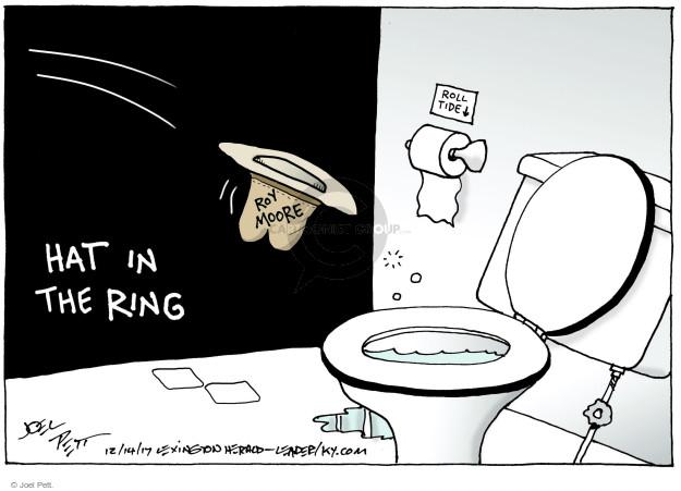 Joel Pett  Joel Pett's Editorial Cartoons 2017-12-14 state politician