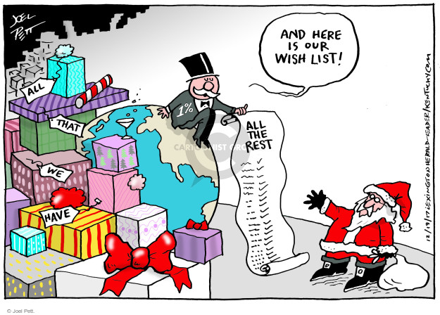 Joel Pett  Joel Pett's Editorial Cartoons 2017-12-19 tax reform