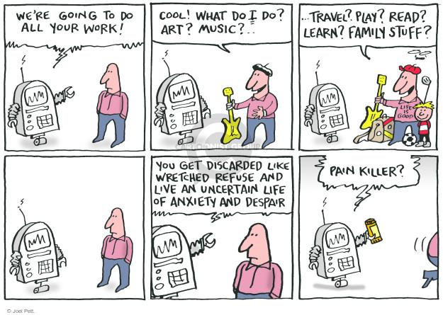 Cartoonist Joel Pett  Joel Pett's Editorial Cartoons 2017-12-20 killer