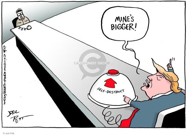 Cartoonist Joel Pett  Joel Pett's Editorial Cartoons 2018-01-05 state