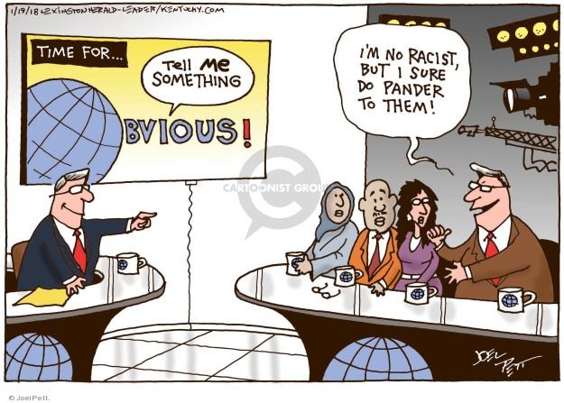 Joel Pett  Joel Pett's Editorial Cartoons 2018-01-19 racism