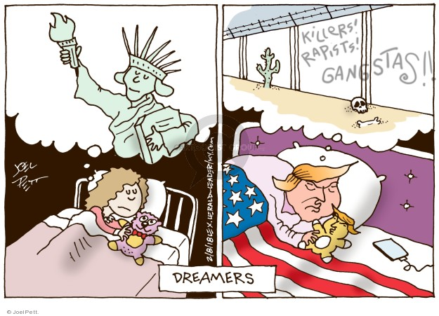 Killers! Rapists! Gangstas!! Dreamers.