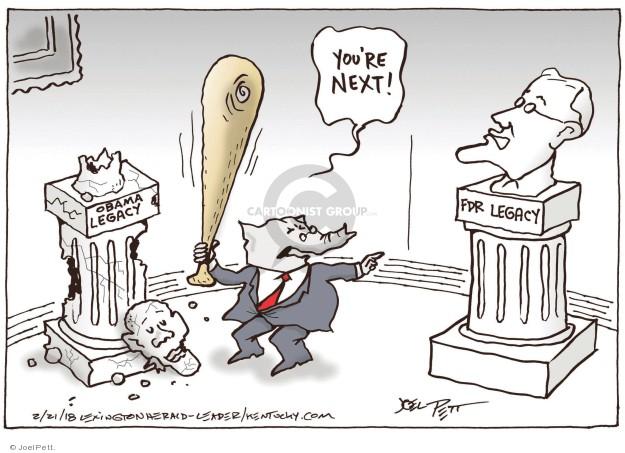 Joel Pett  Joel Pett's Editorial Cartoons 2018-02-21 republican democrat