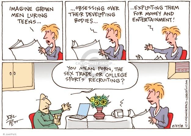 cartoon sex sports - Joel Pett's Editorial Cartoons ...
