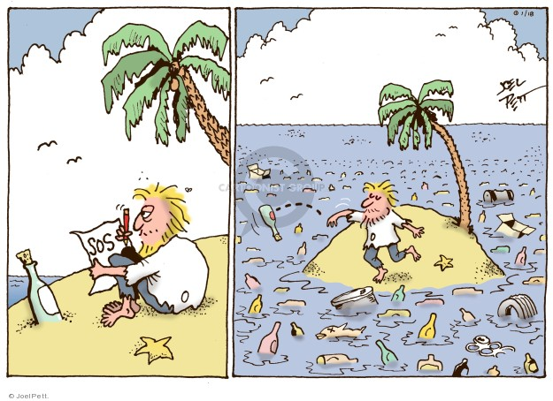 Joel Pett  Joel Pett's Editorial Cartoons 2018-02-28 pollution