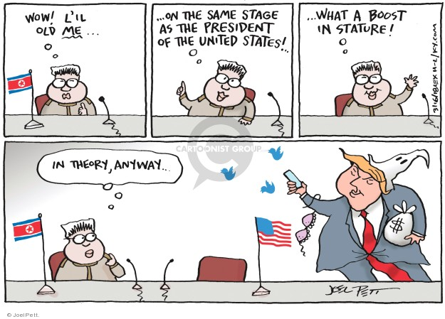 Cartoonist Joel Pett  Joel Pett's Editorial Cartoons 2018-03-16 North America