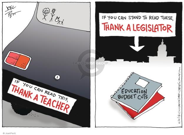 Cartoonist Joel Pett  Joel Pett's Editorial Cartoons 2018-04-04 legislation