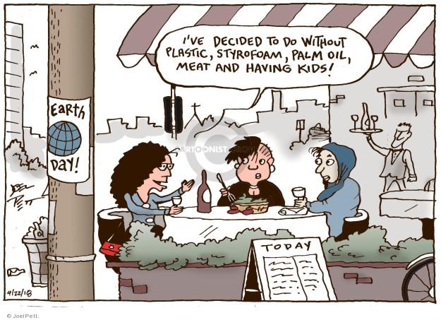 Cartoonist Joel Pett  Joel Pett's Editorial Cartoons 2018-04-22 decision